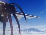 在飛機上用 iPhone 影相,螺旋槳竟然變成恐怖大蜘蛛
