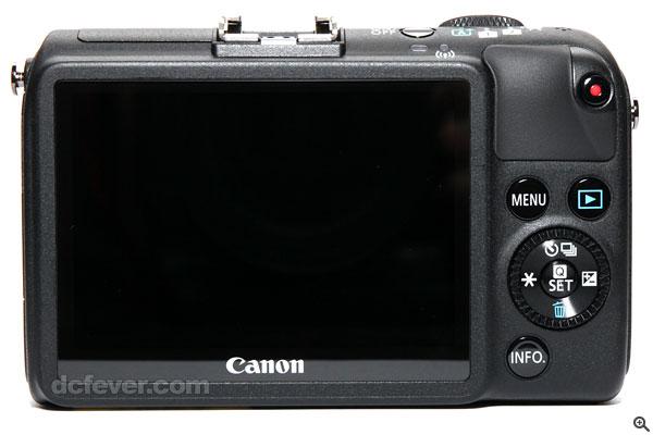 机背按钮布局基本维持不变.-迟到好过无到 Canon EOS M2 抵港试玩