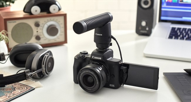 product shoot canon eos m50
