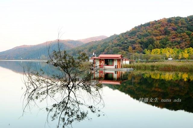 """韩国秋天的""""秘密""""风景 - 文光水库()"""
