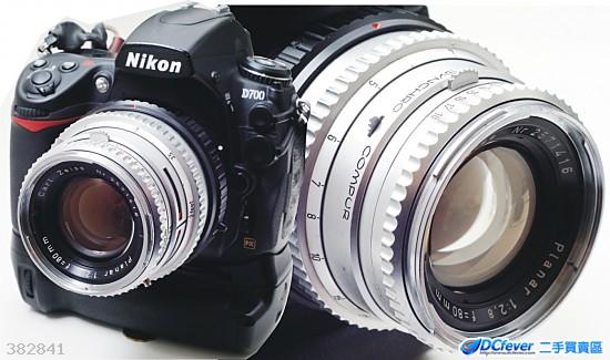 HASSELBLAD(哈蘇) Carl Zeiss C Planar 80mm f/2.8    已經改鏡 Nikon、Canon、Sony、Pentax、Olympus數碼單反全部啱用
