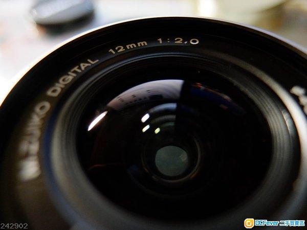 轉會出售 Olympus 12mm F2 (12.2)