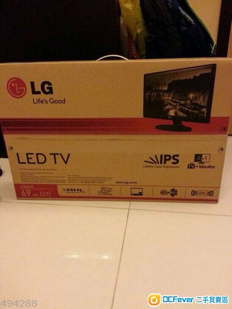 "出售: LG 27MA53D-PH ( 27"" IPS iDTV, Support MHL)"