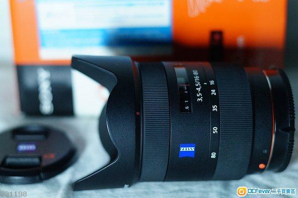 新款 Carl Zeiss 1680ZA ( 16--80mm ) 细蔡 For Sony Alpha / Nex / M43