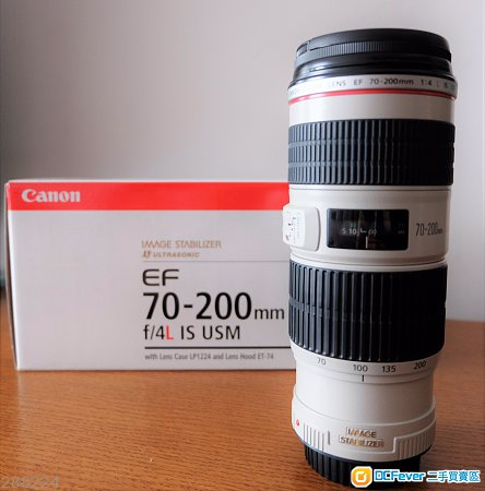 Canon EF 70-200mm f4 L IS USM 小小白