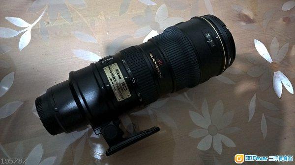 Nikon AF-S 70-200mm F/2.8 G(IF) ED VR I (第一代)