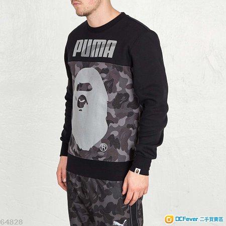 出售 100% new PUMA X BAPE Crew Sweat B