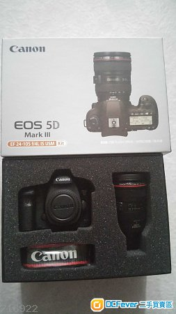 全新 CANON 5D Mark III 5D3  with 24-105mm f4L IS  8GB  USB  模型