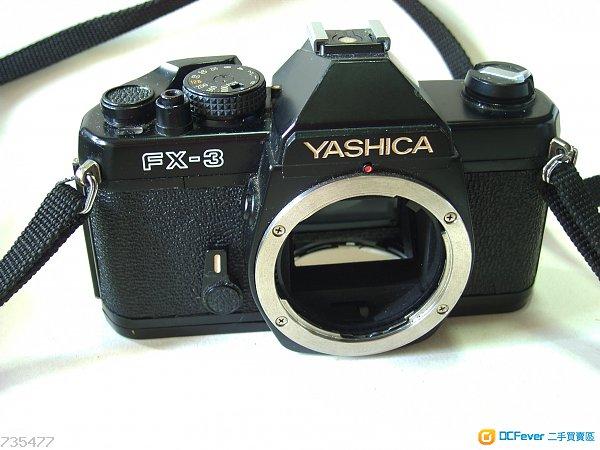 合初學者yashica FX-3  body  for C/Y mount