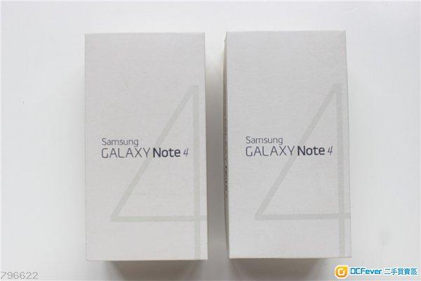 【全新未開封】Samsung Galaxy Note4 32GB ( 金色/白色,港版,有單據,有保養,未開封)