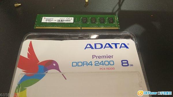 ddr4 ADATA Premier DDR4 2400MHz 8GB  1條