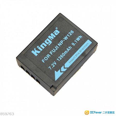 KingMa 2 X BATTERY + Usb Double (Dual) Charger (NP-W126,XT2、XT1、X100F)