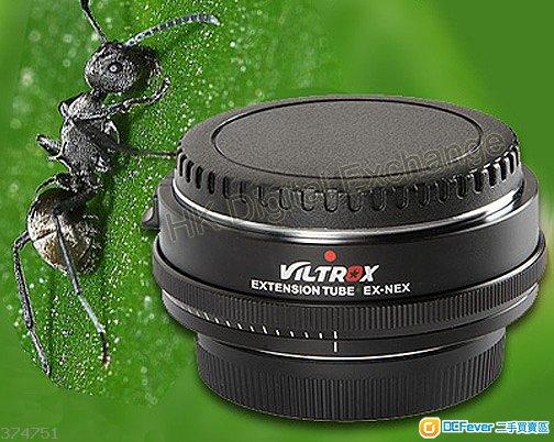全新唯卓 Viltrox EX-NEX 微距自動對焦轉接環, 適合Sony A7, A9 相機, 深水埗門市可購買, 順豐免郵及7仔自取