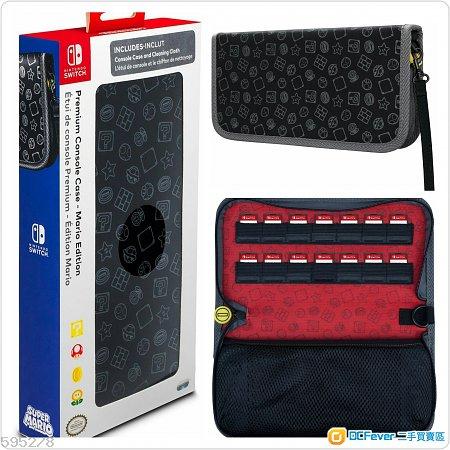 Nintendo switch 原裝 任天堂 mario 主機保護套 Premium Console Case 保護套 (Mario)