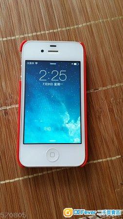 90% new iPhone 4 16gb white 行貨
