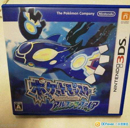 出售3DSPokemonSapphire危城小精灵蓝宝ios攻略末日手游宠物图片