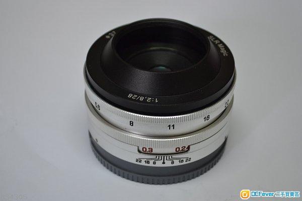SLR Magic 28mm/2.8 E-mount, Sony Nex 5R, 5T,7, 7R, 7 II