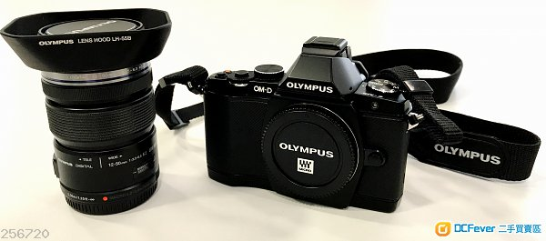 99% New 香港行貨 Olympus OM-D EM5 (Black) kit set (12-50mm) 無保養 無盒 有相機袋