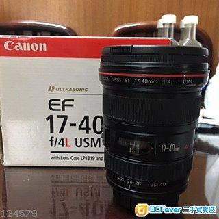 Canon EF 17-40mm F4L