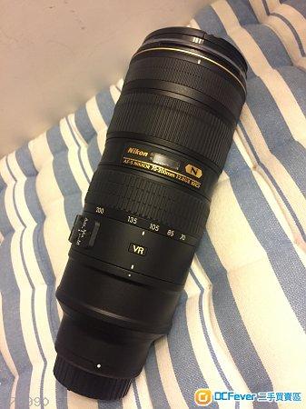 Nikon AF-S 70-200 f/2.8G ED VR II