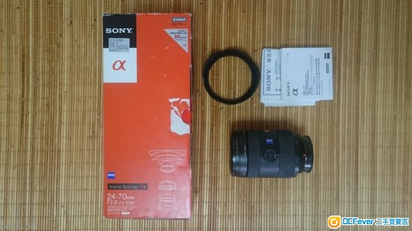 Sony 24 -70 2.8     Sony A mount