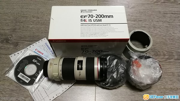 Canon EF 70-200mm f4L IS USM小小白