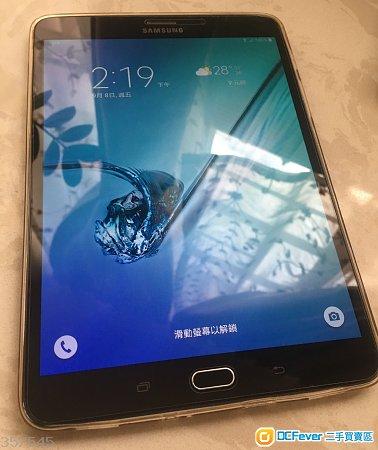 """出售 Samsung Tab S2 SM-T715C 8"""" LTE 32GB 黑色 99%新 行貨有保養"""