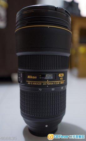 Nikon AF-S NIKKOR 24-70mm f/2.8E ED VR (24-70 VR)