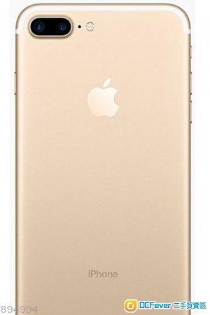 iPhone 7 plus 玫瑰金 32GB