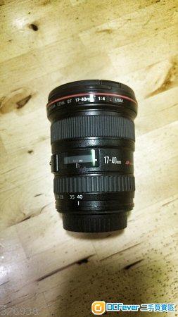[90% 新] Canon EF 17-40mm f/4.0L USM