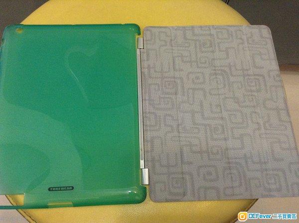 原装行货 tunewear softshell ipad 4 case 连 smart cover