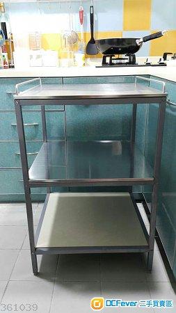 出售 不锈钢三层储物架