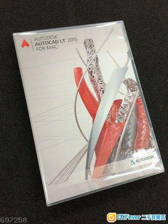 出售 Autodesk Autocad LT 2015 for MAC