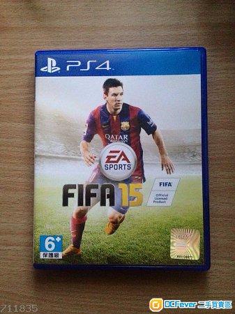 出售 PS4 FIFA 2015