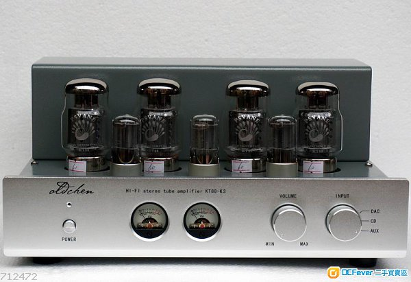 老陈 精品 kt88-k3 大功率纯手工搭棚推挽 胆机 全新现货价hkd3980