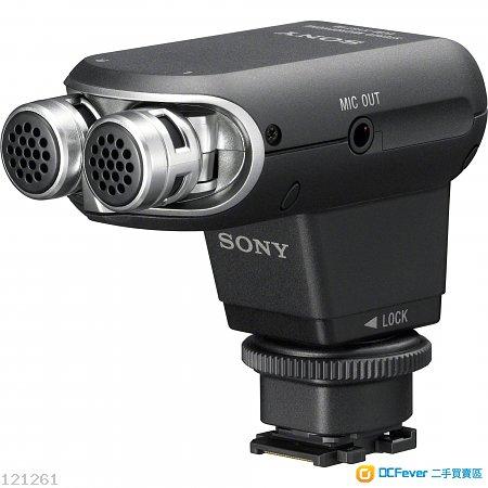 sony 麦克风mic 收音咪 ecm-xyst1m ★a7/nex/rx/a6500/handycam