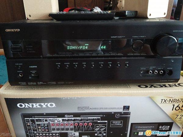 onkyo 安桥 tx-sr 607 扩音机 amp