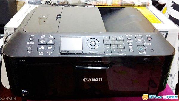 canon 打印机 mx426