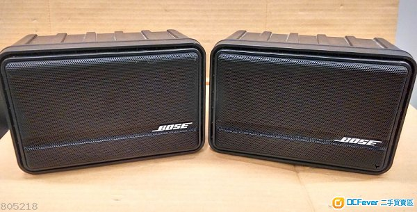 bose model 25 surface mount speaker black