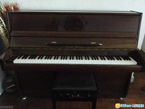 6成新 有琴凳 音色良好 啱儿童学习钢琴练习之用 只可以愉景湾交收