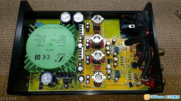 "pcm1794a双并联 ""同轴/光纤"" 解码器,支持24bit/192k 同轴输入信号,ns"