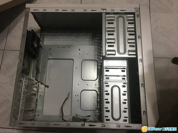 atx 电脑机箱连风扇