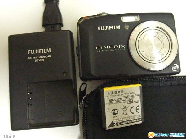 fujifilm finepix f50 fd (sensor 1/1.6 吋 super ccd)