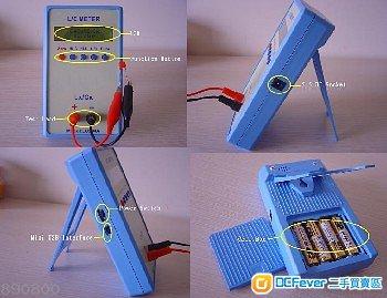 全新lc meter lc200a, 电感电容表