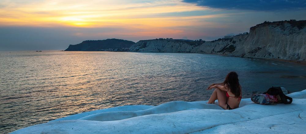 斯卡拉德图尔池海滩(白悬崖海滩)旅游摄影技巧,景点图片