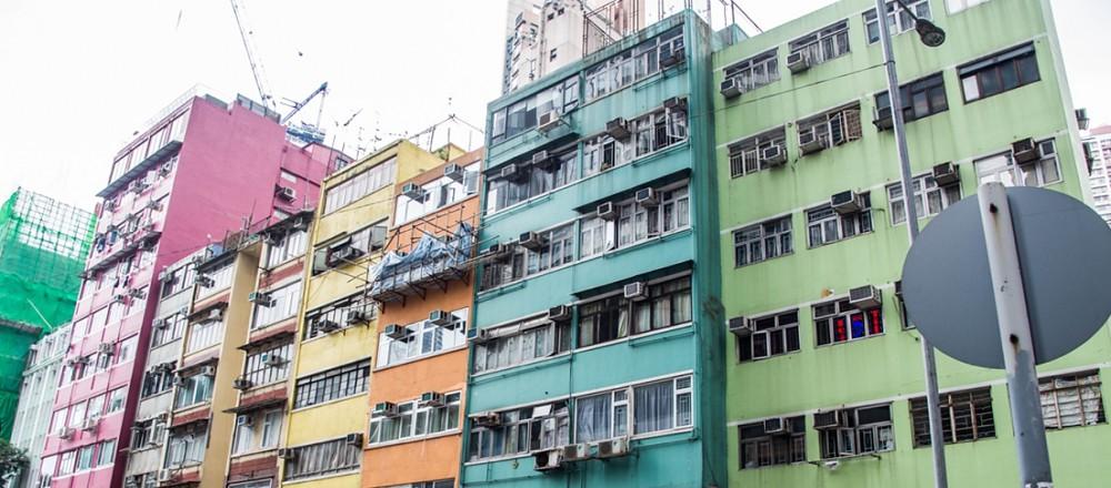 励德邨是香港岛大坑的一个旧式公共屋邨,由香港房屋协会发展.