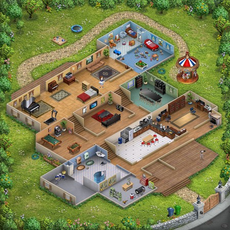 手機平板自有黄金屋Virtual Families 2 自玩成家立室- DCFever com