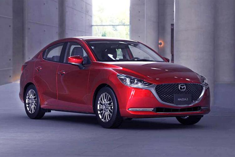 精緻小車低價搶攻南美 2020 款mazda 2 Sedan 墨西哥登場