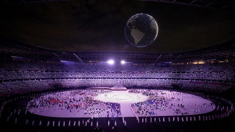 東京奧運用 1,824 隻無人機砌出地球圖案,開幕式感動 78 億人!